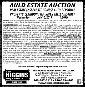 Auld Estate Auction
