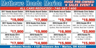 Huge Pre-Owned - Sales Event