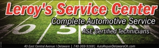 Complete Automotive Service