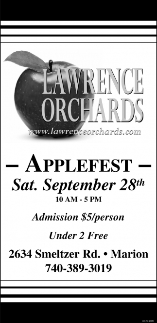 Applefest - September 28th