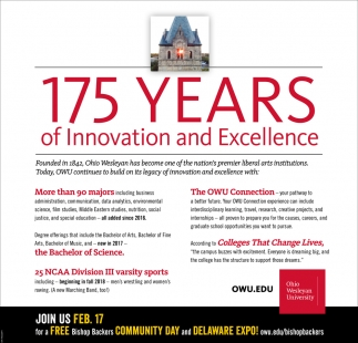 175 years of Innovation and Excellence