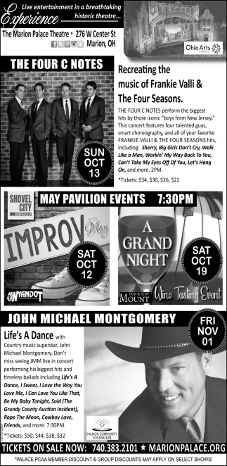 The Four C Notes - Improv - A Grand Night - John Michael Montgomery