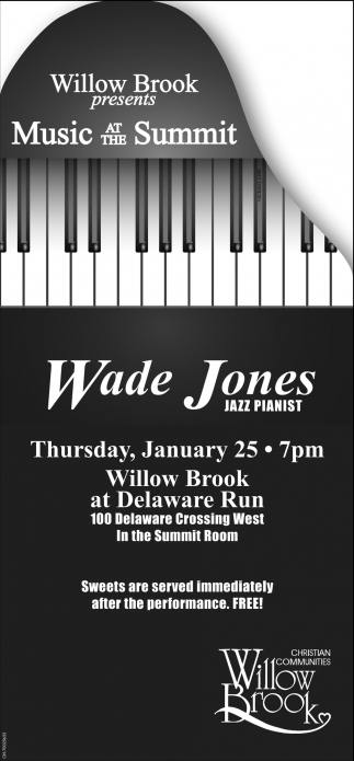 Wade Jones Jazz Pianist