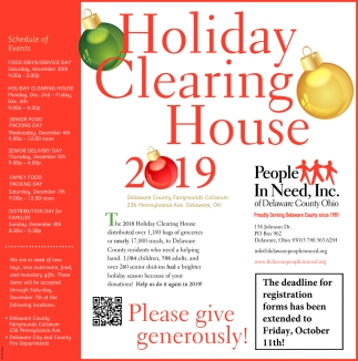 Holiday Clearing House 2019