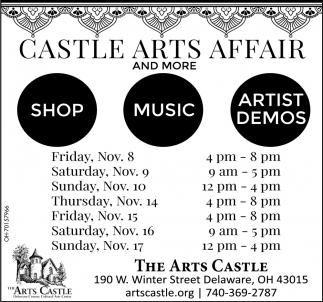 Castle Arts Affair