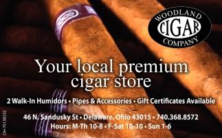 Your local premium cigar store