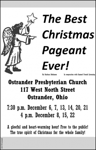 The Best Christmas Pageant Ever!