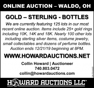 Online Auction - Waldo