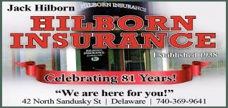 Celebrating 81 Years