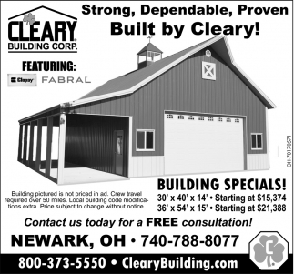 Strong, Dependable, Proven - Built by Cleary!