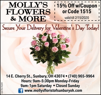 15% Off w/Coupon or Code 1515