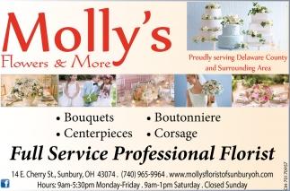 Full Service Professional Florist