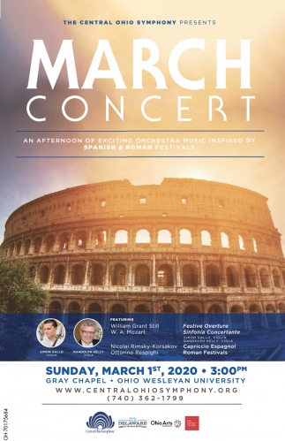 March Concert - March 1st
