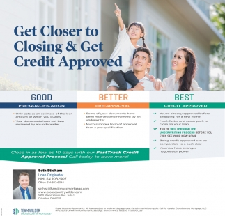 Get Closer to Closing & Get Credit Approved