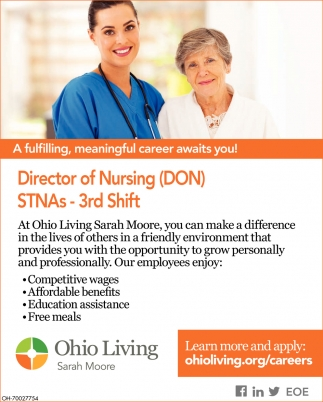 Director of Nursing (DON), STNAs