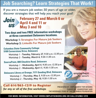 Job Searching? Learn Strategies That Work!