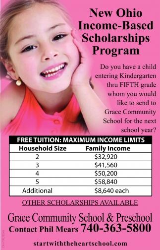 New Ohio Income-Based Scholarship Program