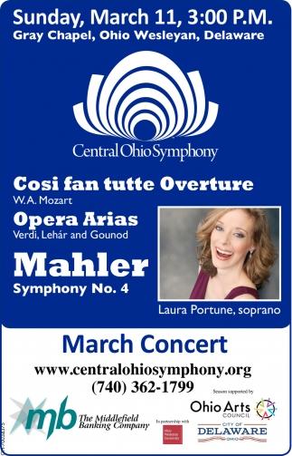 Casi fan tutte Overture, Opera Arias, Mahler