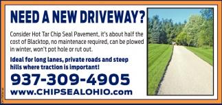 Need a new driveway?