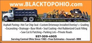 Third generation Asphalt paving & Hot Tar Chip Seal professionals