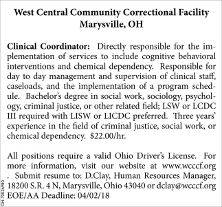Clinical Coordinator