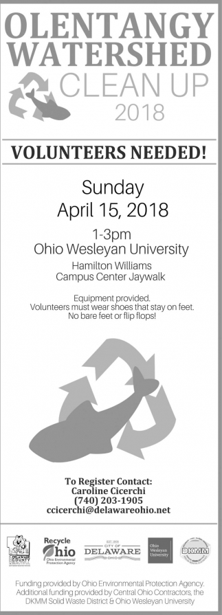Olentangy Watershed Clean Up 2018