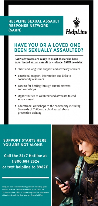 Helpline Sexual Assault Response Network (SARN)