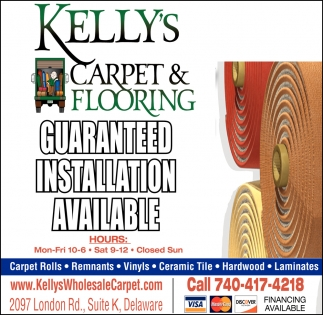 Guaranteed Installation Available