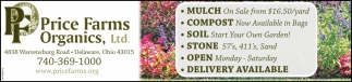 Mulch, Compost, Soil, Stone