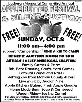 Apple Butter Festival & Silent Auction
