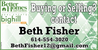 Contact Beth Fisher