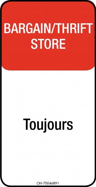 Bargain / Thrift Store