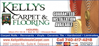 Carpet/Flooring Store