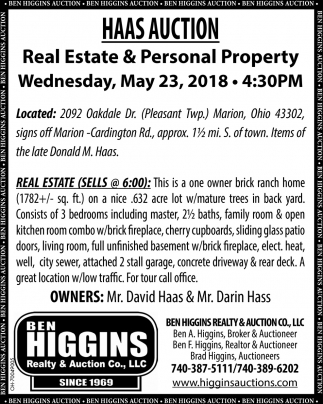 Real Estate & Personal Property