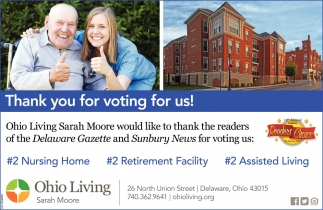 Thank you for voting for us!