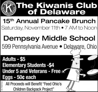 15th Annual Pancake Bruch