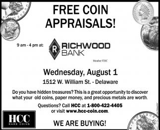 FREE Coin Appraisals