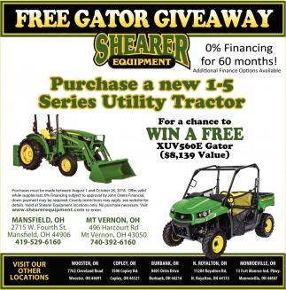 FREE Gator Giveaway