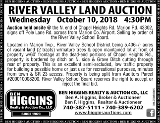 River Valley Land Auction