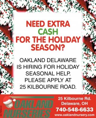 Holiday Seasonal Help
