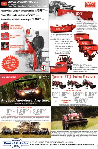 Snowblower Products