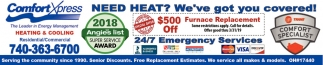 Need Heat? We've got you covered!
