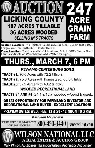 247 acre grain farm