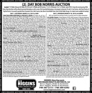2 Day Bob Norris Auction
