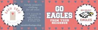 Go Eagles from your Neighbor