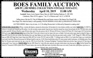 Boes Family Auction