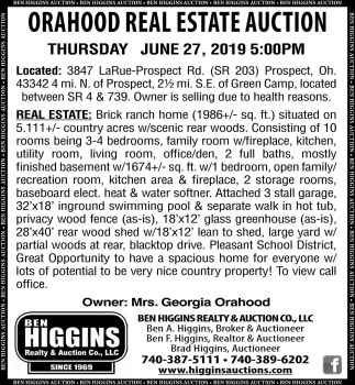 Orahood Real Estate Auction