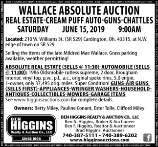 Wallace Absolute Auction