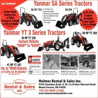 Yanmar Series Tractors