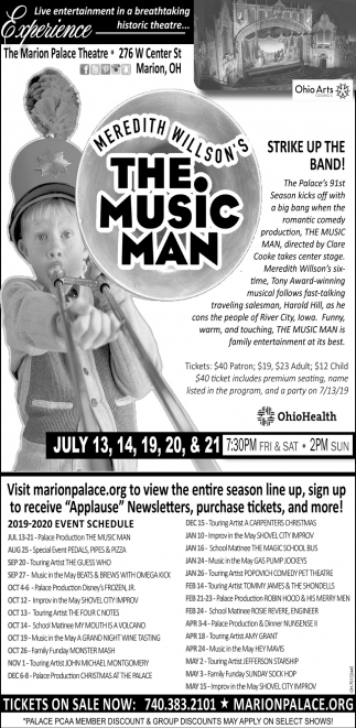 Meredith Willson's - The Music Man